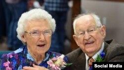 «هاروی شلوتر» ۱۰۴ ساله است و «ایرما شلوتر» به زودی ۹۳ سالگی اش را جشن می گیرد.