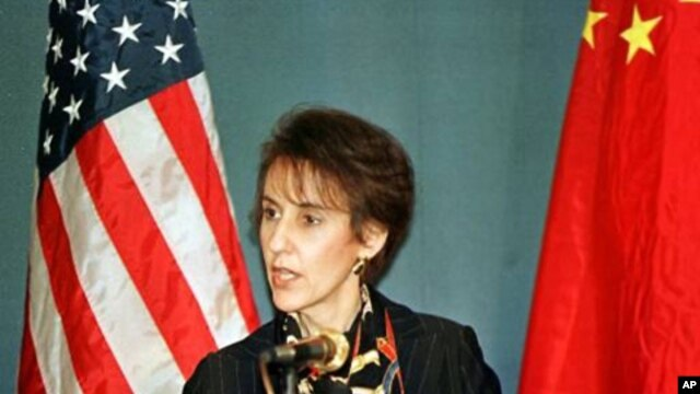 U.S. Trade Representative Charlene Barshefsky (File Photo)