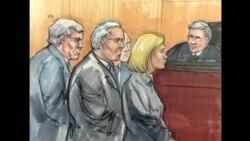 美前国会议长出庭做出无罪申诉