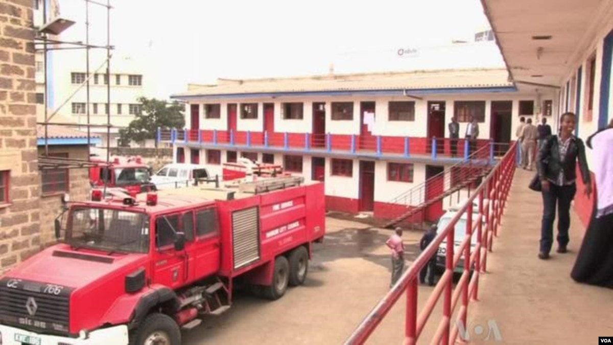 fighting fire in nairobi with just one fire engine