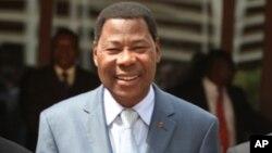 Le président béninois, Thomas Boni Yayi