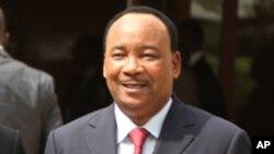 Le président nigérien, Mahamadou Issoufou