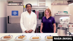 Nasa engineers working on healthy and lighter foods for Mars flights.