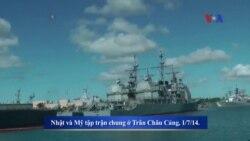 Nhật kêu gọi tuần tra chung với Mỹ ở Biển Đông