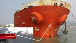 Tàu dầu Việt Nam va đụng chiến hạm Đài Loan