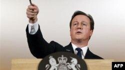 Британский премьер-министр Дэвид Кэмерон