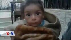 Suriye'de Açlık Dramı