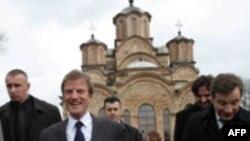 Incident obeležio Kušnerovu posetu Gračanici