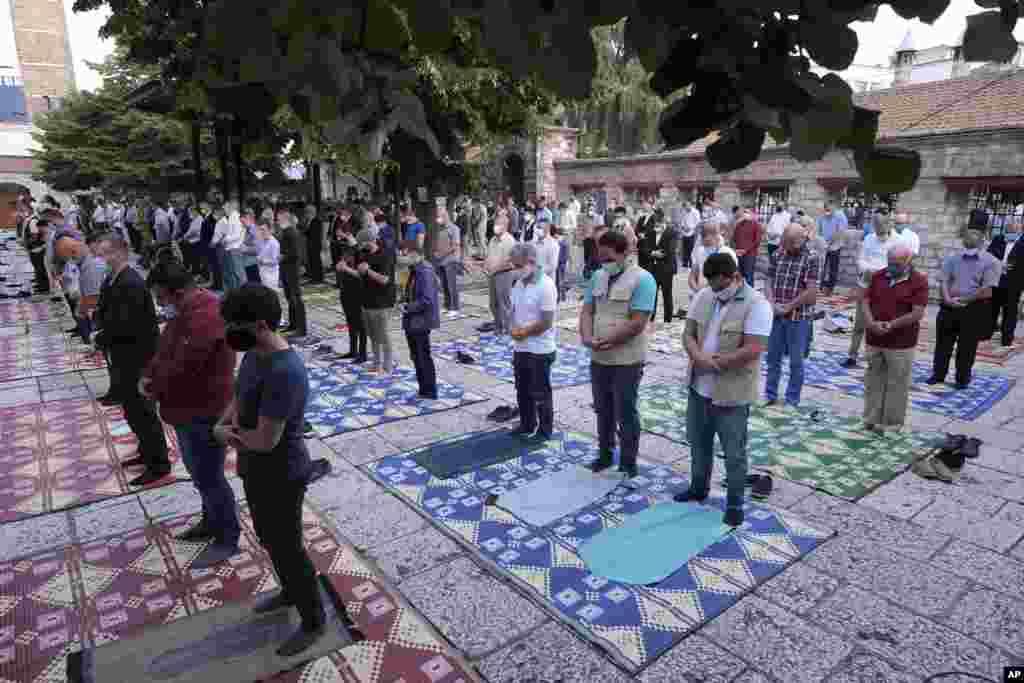 ေဘာ့စနီးယားႏိုင္ငံ Sarajevo ၿမိဳ႕ကျမင္ကြင္း။ (ဇူလိုင္ ၃၁၊၂၀၂၀)