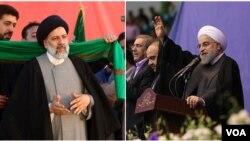 İbrahim Rəisi və Həsən Ruhani
