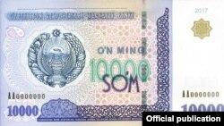 10000 so'mlik banknot