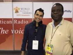 Albert Mianzoukouta de Radio Vatican joint par Jacques Aristide