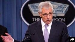Bộ trưởng Quốc phòng Hoa Kỳ Chuck Hagel.
