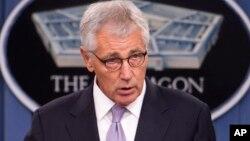 Chuck Hagel permanecerá en el cargo hasta que se nombre un sucesor y sea confirmado por el Senado.
