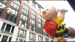 Традиції святкування Дня подяки у США. Відео