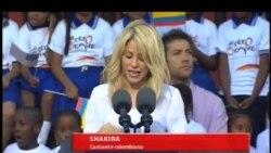Shakira y la educación temprana