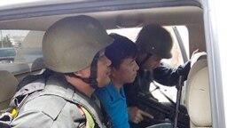 Nghi phạm Trung Quốc bị bắt trong vụ án 300 kg ma túy đá ở công ty Hasan, Tp. Hồ Chí Minh. Photo VNExpress.