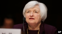 Kepala Bank Sentral Amerika Janet Yellen (foto: dok).