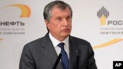 CEO Rosneft, Igor Sechin (foto: dok).