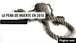 Amnistía Internacional dice en su informe que sin tener en cuenta a China, 1.032 personasfueron ejecutadas el año pasado. [Ilustración: Amnistía Internacional].