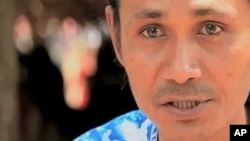 VOA Burmese Service reporter Kyaw Kyaw Thein in Chiang Mai, Thailand