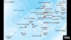 South China Sea claim.