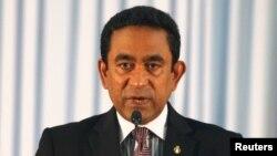 Shugaban Maldives Abdulla Yameen