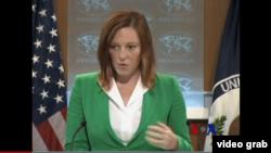 Juru bicara Deplu AS Jen Psaki menegaskan bahwa militer AS tak akan mengirim 'Osprey' ke Afrika (foto: dok).
