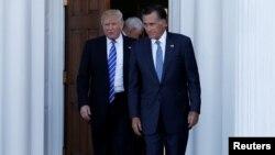 Donald Trump û Mitt Romney