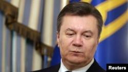 Tổng thống Ukraina bị lật đổ Viktor Yanukovych.