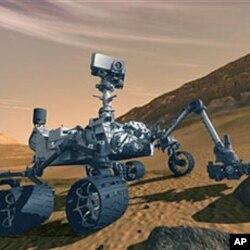 مریخ پر تحقیق کرنے والی گاڑی