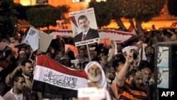 Los partidarios del expresidente Mohamed Morsi continuaron con las protestas en El Cairo este miércoles 31 de julio.
