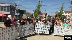 Skup u Gračanici povodom Međunarodnog dana nestalih, 30. avgust 2019. godine (Foto: VOA)