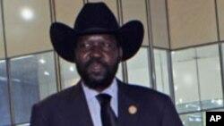 Le président sud-soudanais Salva Kiir