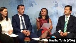 Vashingtonda o'tgan davra suhbatida, Turkiy xalqlar va Amerika Uyushmasi, 14-oktabr, 2014