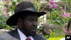Salva Kiir, le président sud-soudanais, 14 juillet 2016.