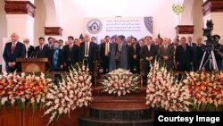 Kobuldagi Prezident saroyida Navoiyga bag'ishlab o'tkazilgan anjuman, Afg'oniston, 11-aprel, 2016-yil