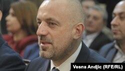 Milan Radoičić u Predsedništvu Srbije, februar 2019. (Foto: RSE)