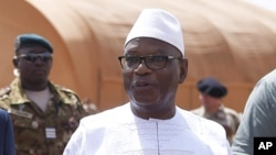 Le président Ibrahim Boubacar Keïta du Mali, 19 mai 2017.