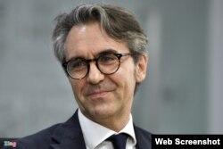 Đại sứ Liên minh châu Âu tại Việt Nam Giorgio Aliberti. Photo Zing News