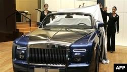 Fantom model Rols-Rojsa na sajmu automobila u Detroitu, SAD