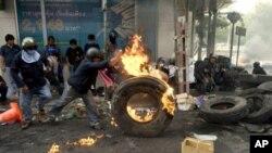 بنکاک میں مظاہرات
