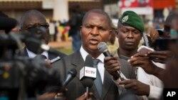 Le président centrafricain Faustin Archange Touadéra, élu le 14 févrie 2016