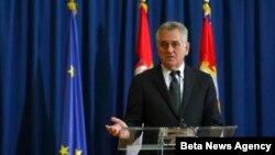 Predsednik Srbije Tomislav Nikolić govori na konferenciji za novinare (arhivski snimak)