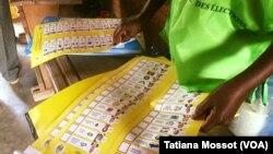 Les listes des candidats lors du premier tour des élections présidentielle et législatives en Centrafrique, 30 décembre 2015