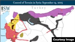 شام کے مختلف علاقوں پر قابض گروہوں کی تفصیل