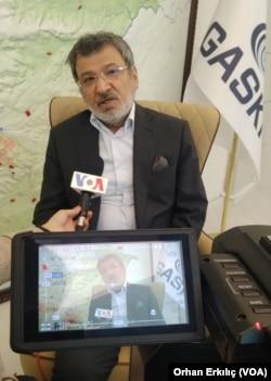 Gaziantep Büyükşehir Belediyesi Su ve Kanalizasyon İşleri (GASKİ) Genel Müdürü Hüseyin Sönmezler
