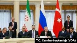 KTT Trilateral: Rusia, Turki, dan Iran untuk membahas masa depan Suriah di Sochi, Rusia (14/2).