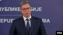 Predsednik Srbije Aleksandar Vučić (arhiva)