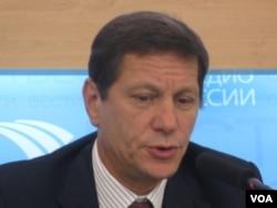 俄罗斯奥委会主席亚历山大-朱可夫(美国之音白桦拍摄)